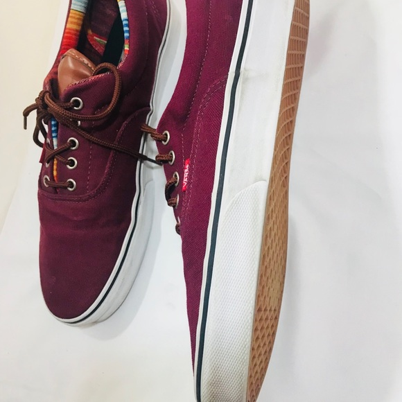 daa42e02b7377 Vans Atwood canvas Windsor burgundy with leather